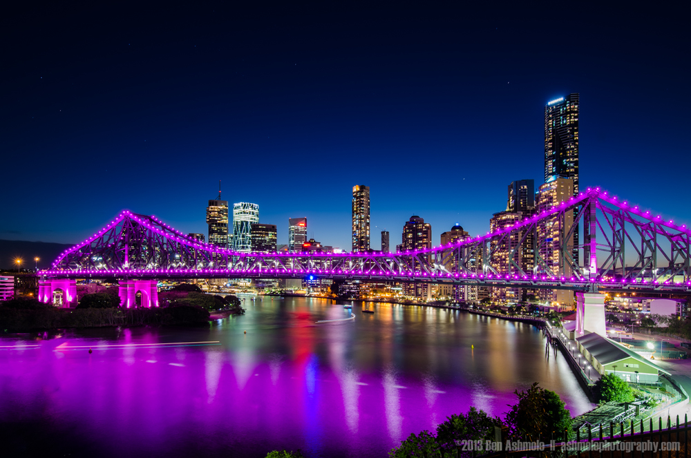 Pretty In Purple, Brisbane, Australia