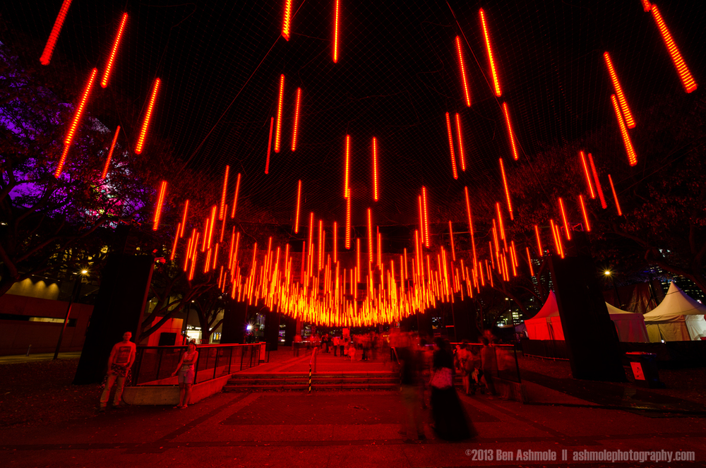 Brisbane Light Garden Red, Australia