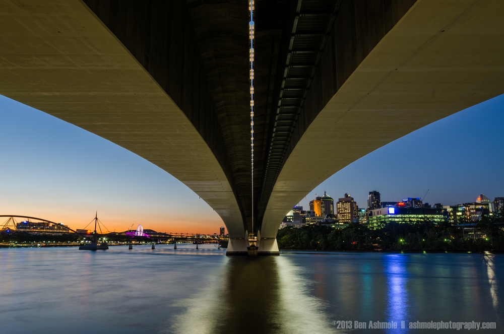 Under The Bridge, Brisbane, Australia