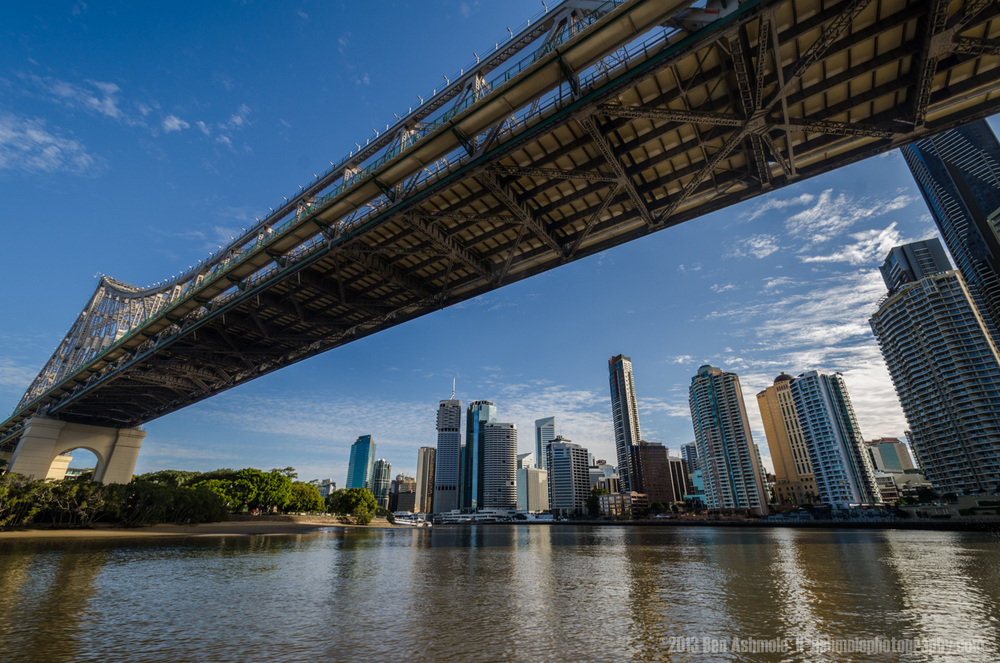 Beneath The Story Bridge, Brisbane, Queensland, Australia