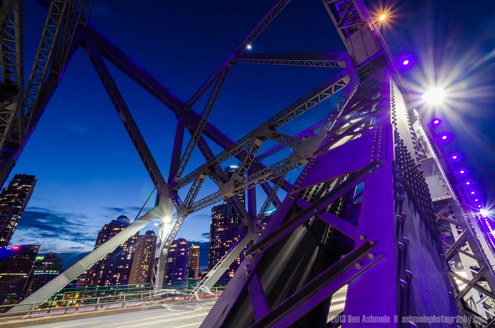 Story Bridge Details, Brisbane, Australia