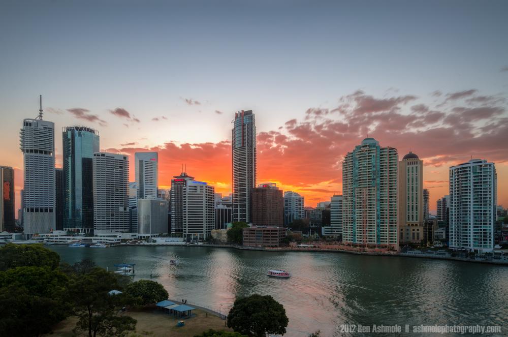 Brisbane Sunset, Australia, Ben Ashmole