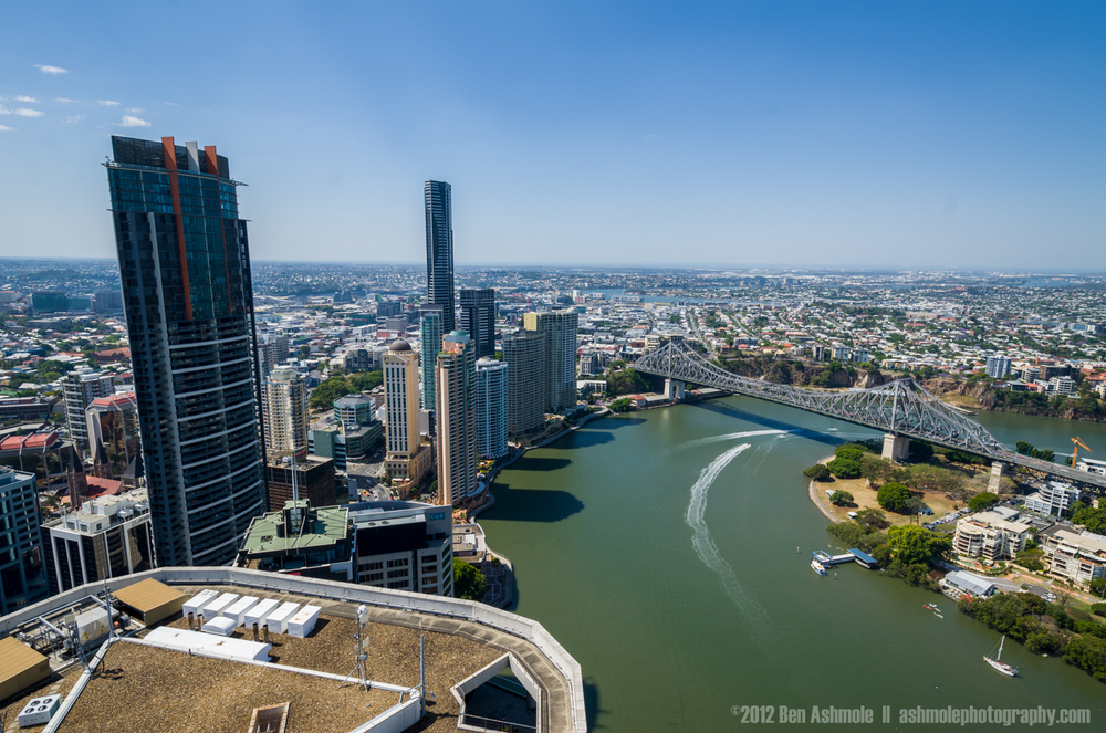 Brisbane From High, Australia, Ben Ashmole
