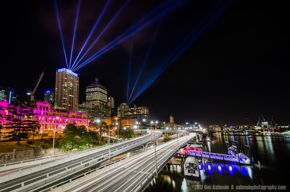 City of Lights, Brisbane, Australia, Ben Ashmole