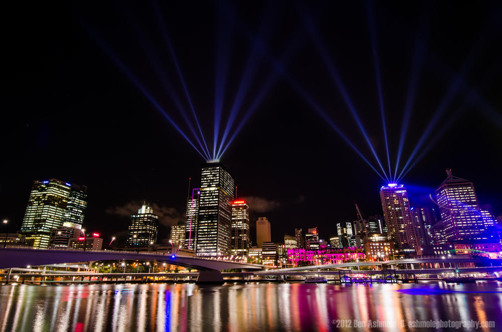 Lighting the Sky, Brisbane, Australia, Ben Ashmole