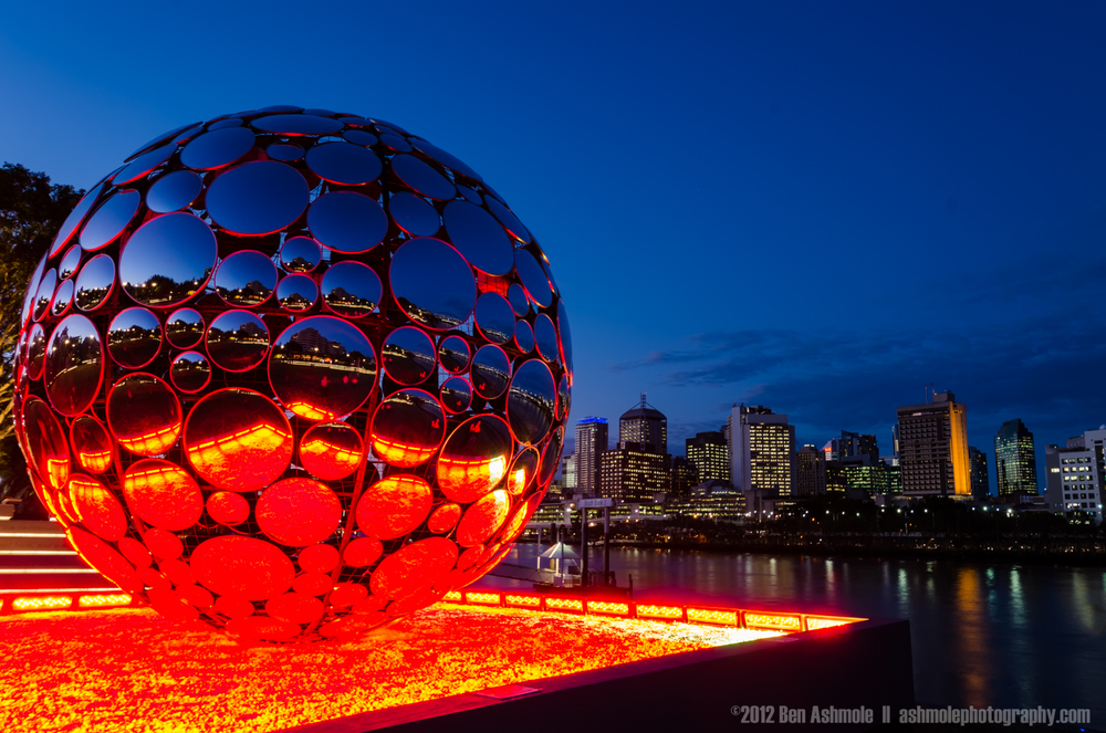 The Orb, Brisbane, Australia, Ben Ashmole
