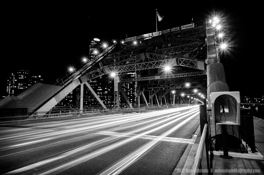 The Story Bridge at Night, Brisbane, Australia, Ben Ashmole
