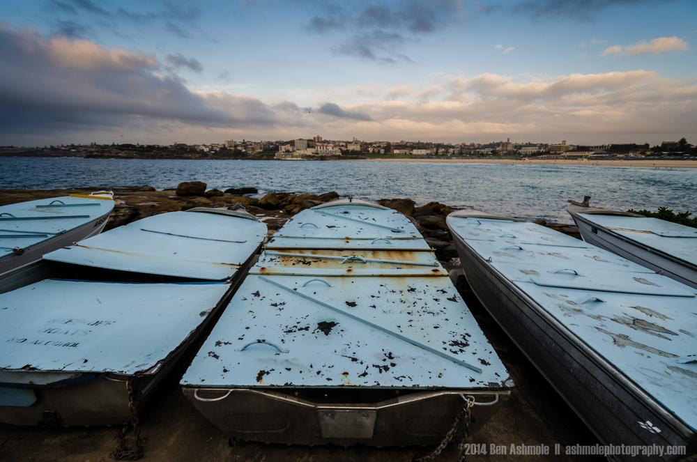 Boats On The Rocks, Bondi Beach, Sydney, Australia