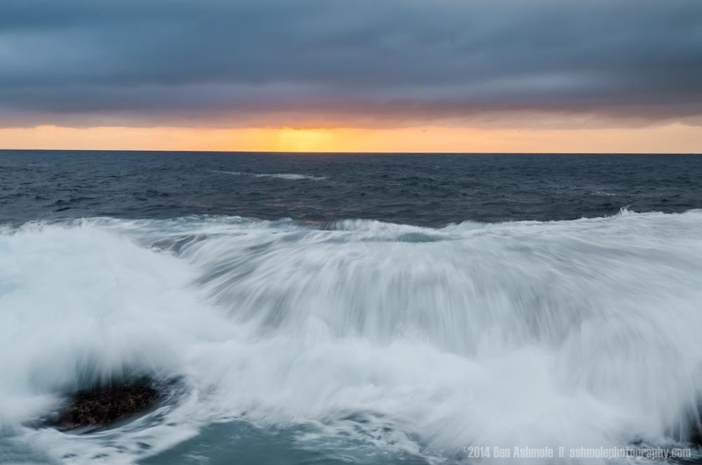 Sunrise Wave, Bondi Beach, Sydney, Australia