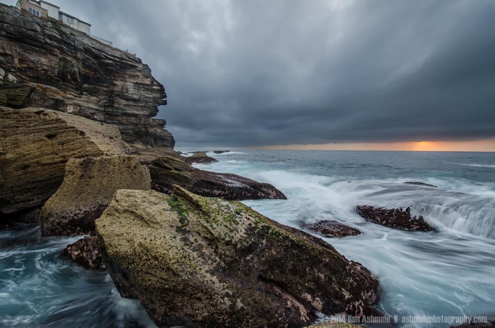 Coastal Storm, Bondi Beach, Sydney, Australia