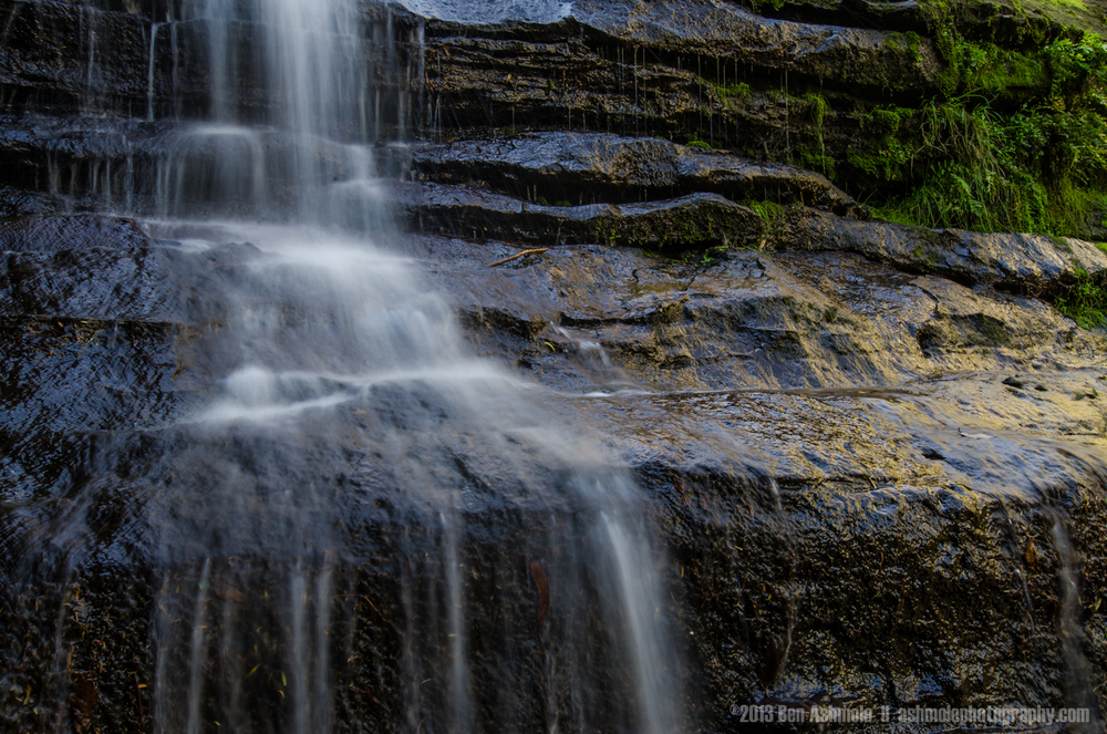 Cascading Waterfall, Blue Mountains, New South Wales, Australia