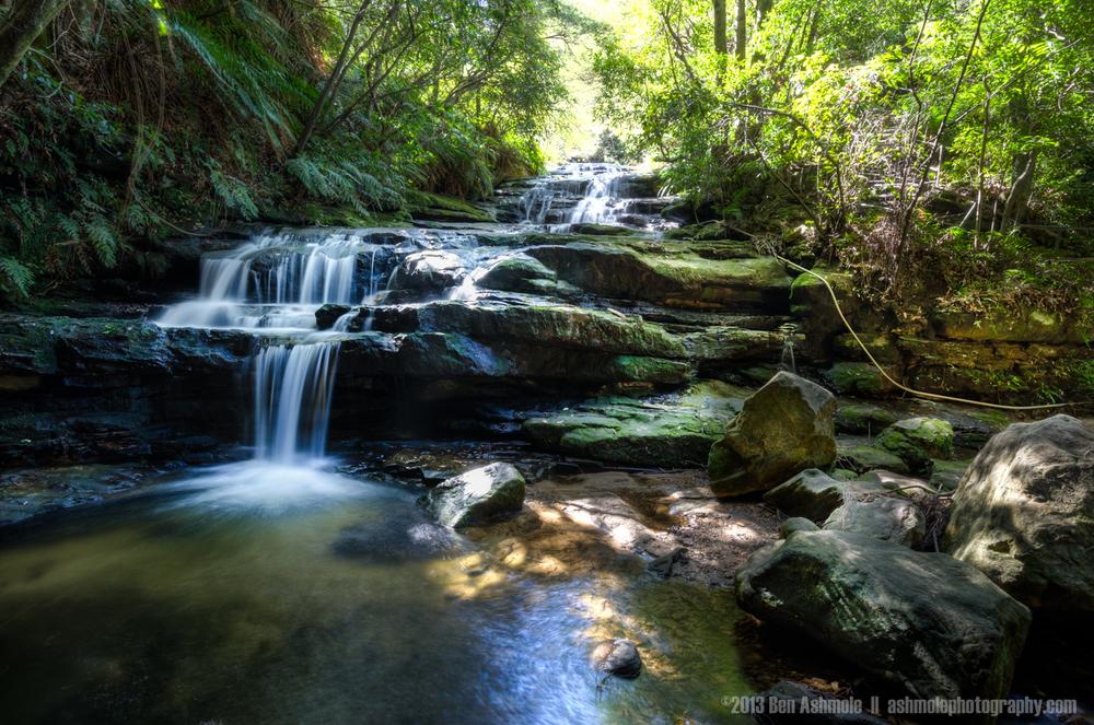 Forest Waterfall, Blue Mountains, NSW, Australia
