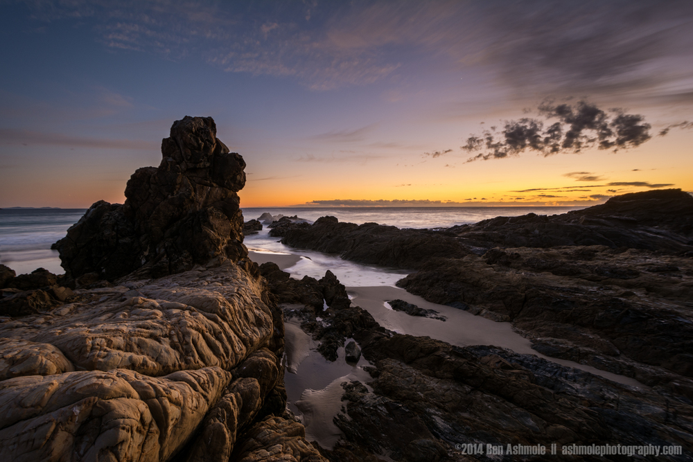 Pastel Sunrise, Byron Bay, Australia