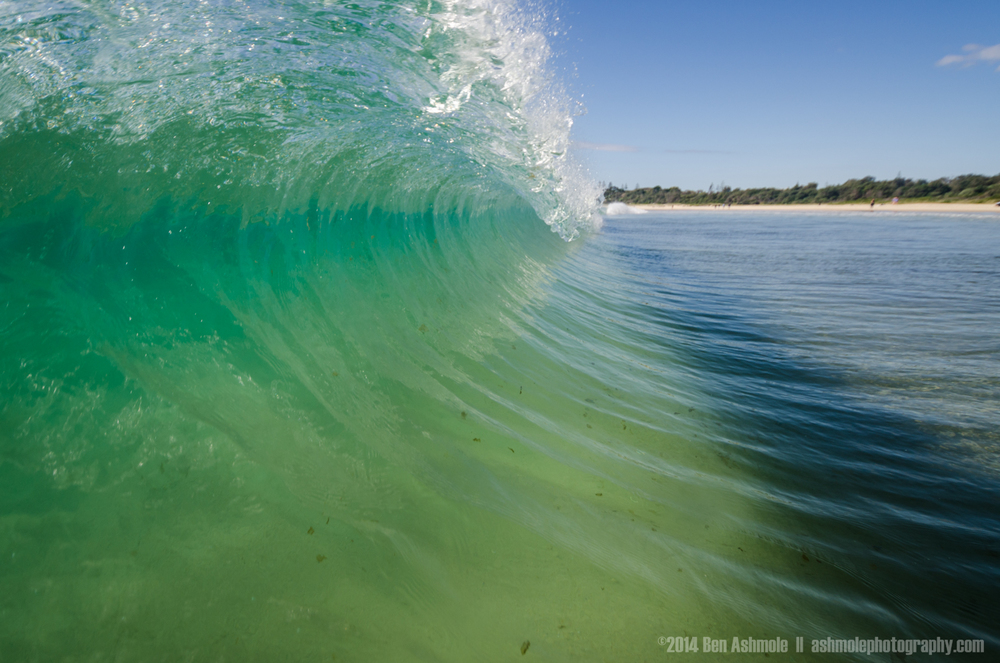 Crashing Wave 2, Byron Bay, Australia