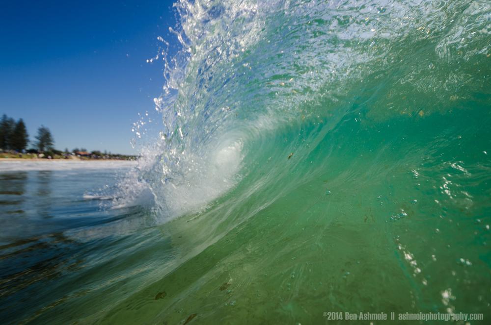 Crashing Wave, Byron Bay, Australia