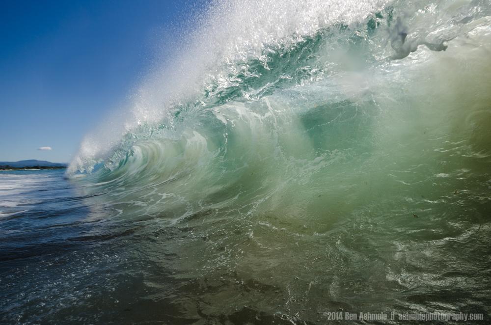 Cresting Wave, Byron Bay, Australia