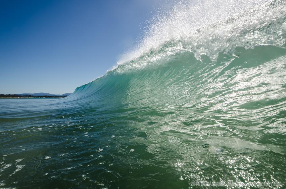 Crashing Wave 3, Byron Bay, Australia