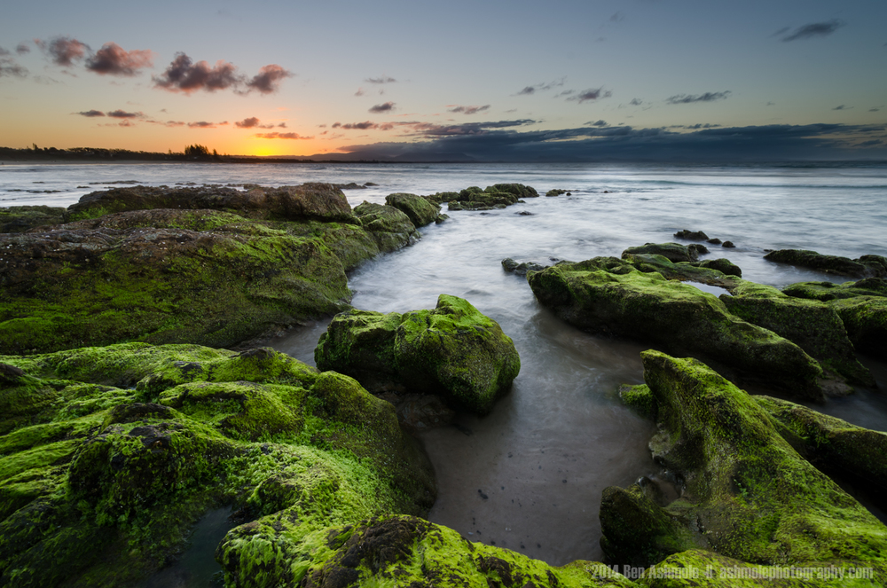 Green Rocks, Byron Bay, Australia