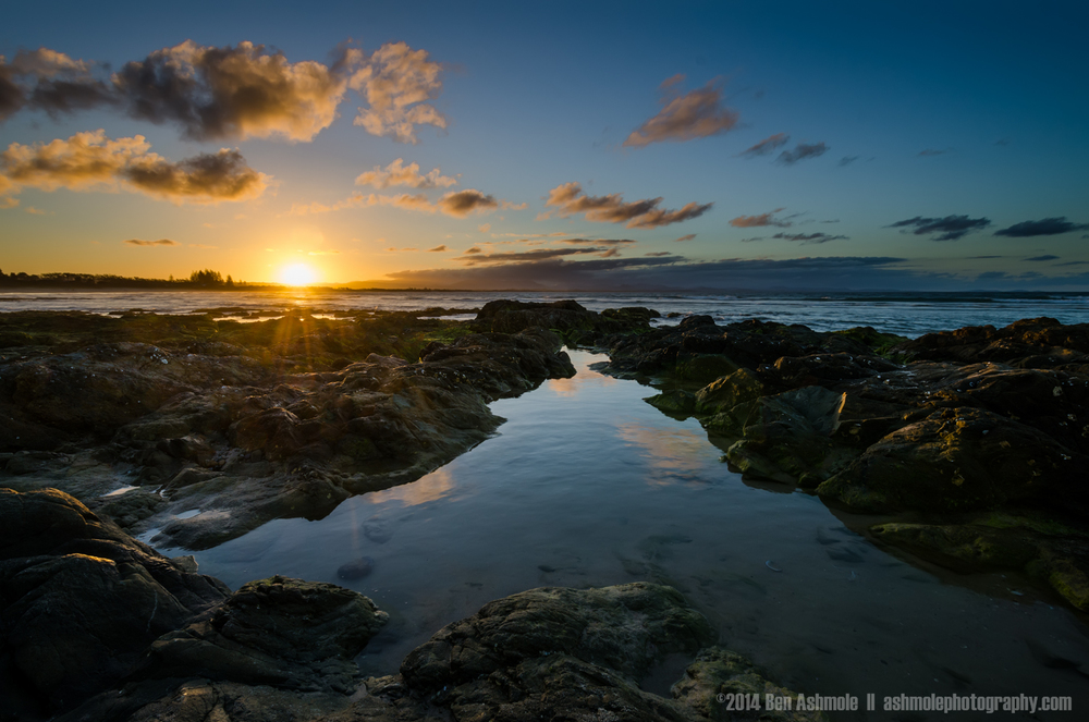 Reflective Pool, Byron Bay, Australia