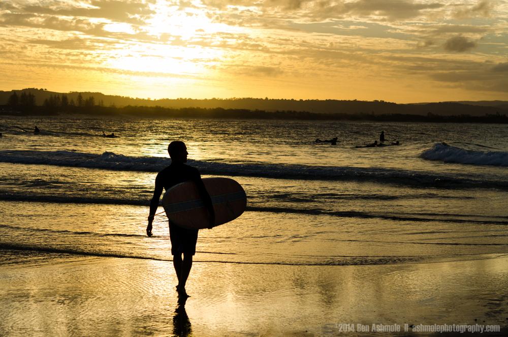 The Surfer, Byron Bay, Australia