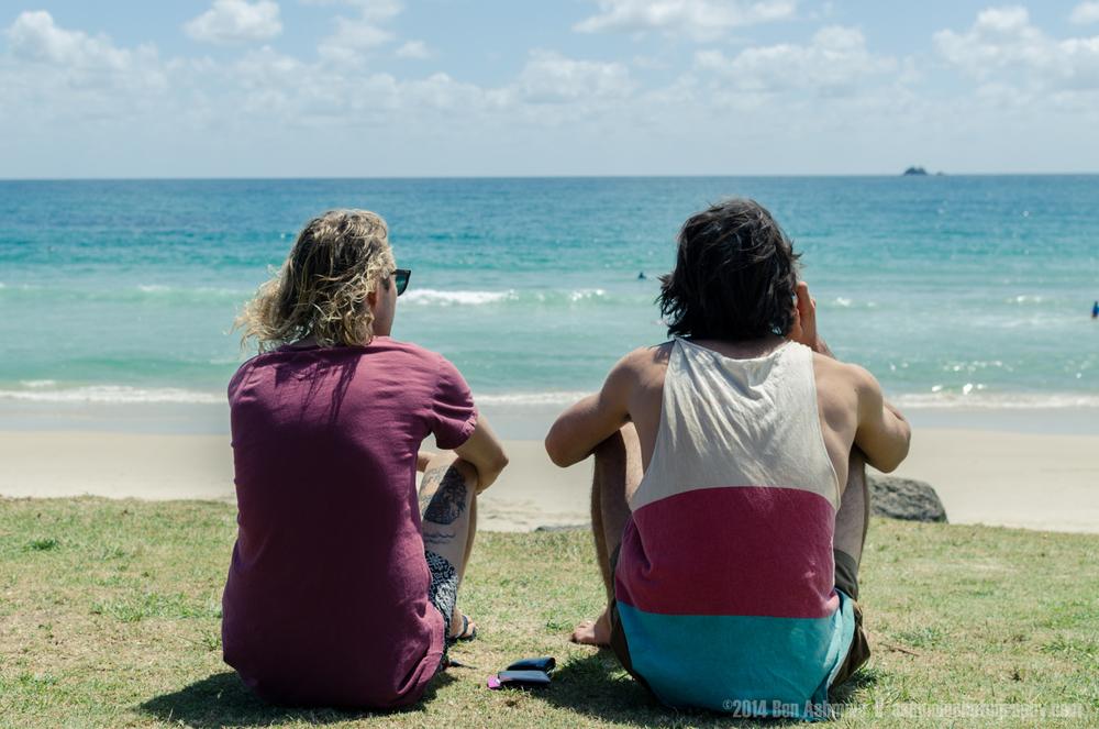 Surfing Talk, Byron Bay, Australia