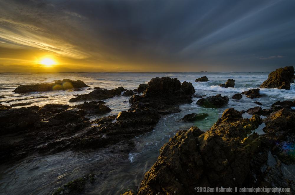 Sunset on the Peninsula, Byron Bay, New South Wales, Australia