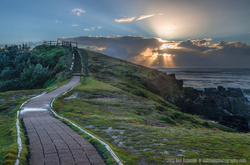 The Path to the Eastern Point, Byron Bay, New South Wales, Austr