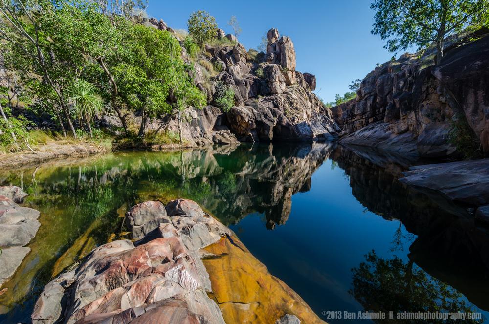 Natures Infinity Pool, Gunlom Falls, Kakadu National Park, NT, A