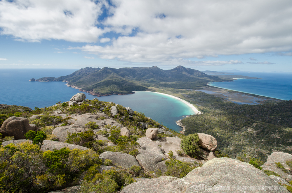 Wine Glass Bay, Freycinet National Park, Tasmania, Australia