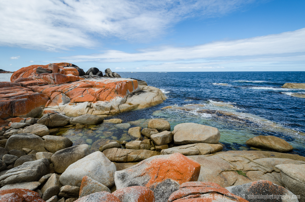The Bay Of Fires, Tasmania, Australia