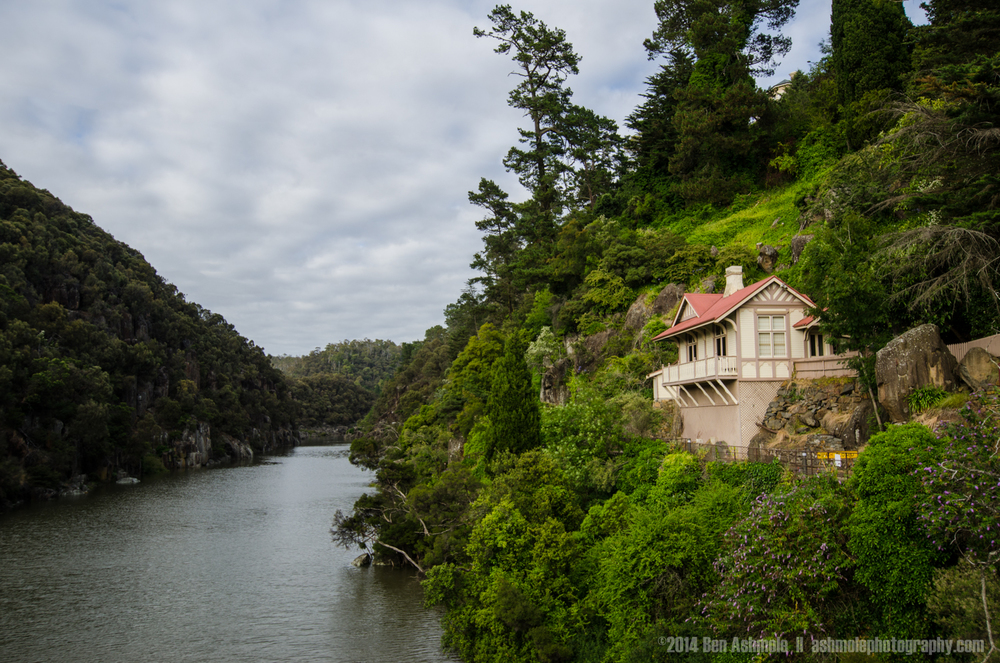 Entrance To Cataract Gorge, Launceston, Tasmania, Australia