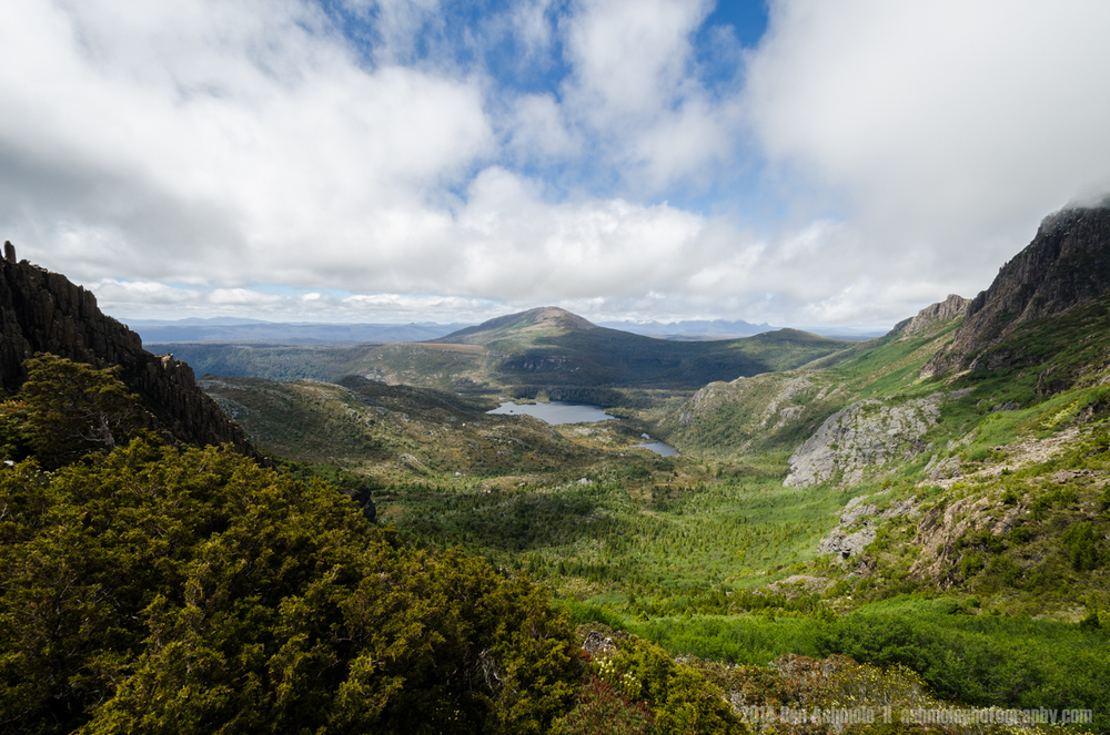 Lake Rodway From The Peak, Cradle Mountain, Tasmania, Australia