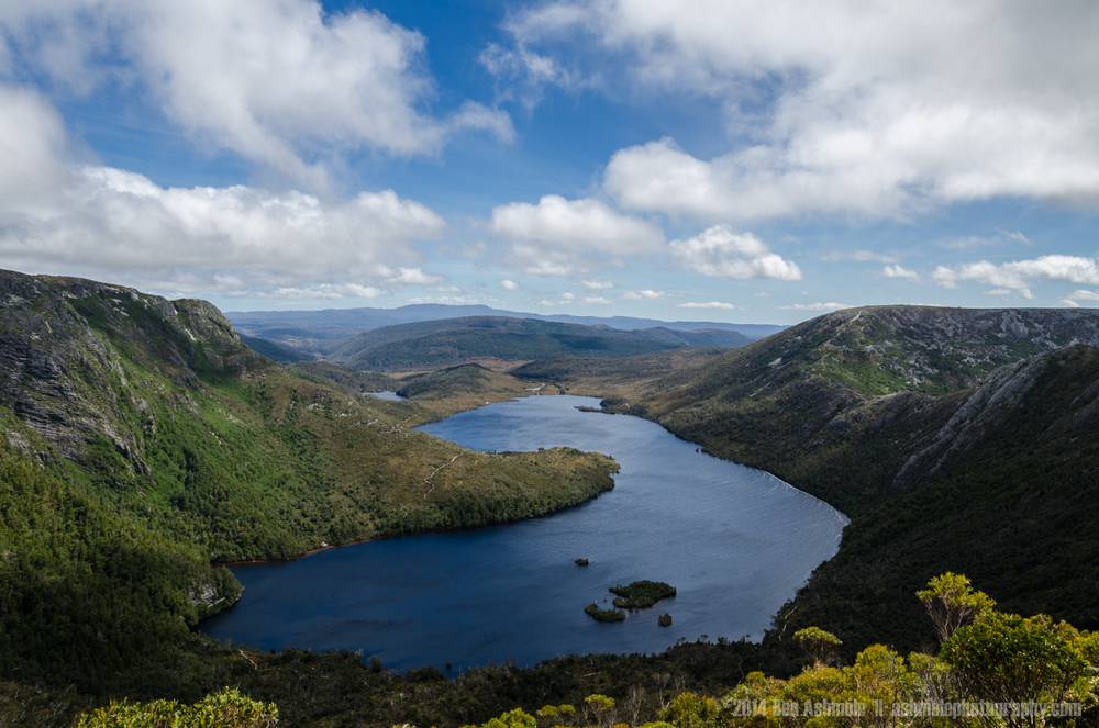 Dove Lake From Cradle Mountain 2, Tasmania, Australia