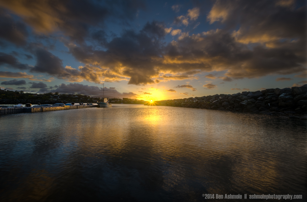 Harbour Sunset, Airlie Beach, The Whitsundays, Australia