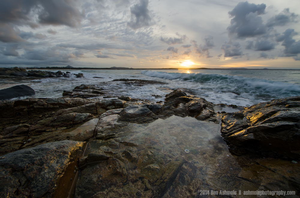 Rockpool Sunset, Noosa Heads, Australia