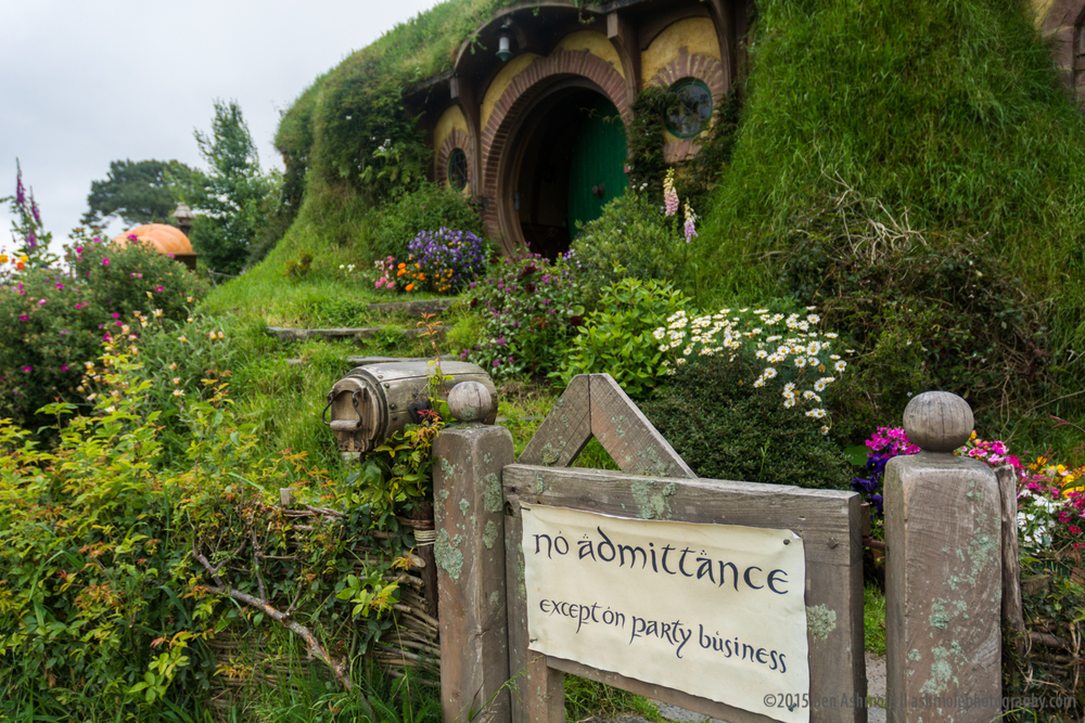 Bag End, Hobbiton, New Zealand