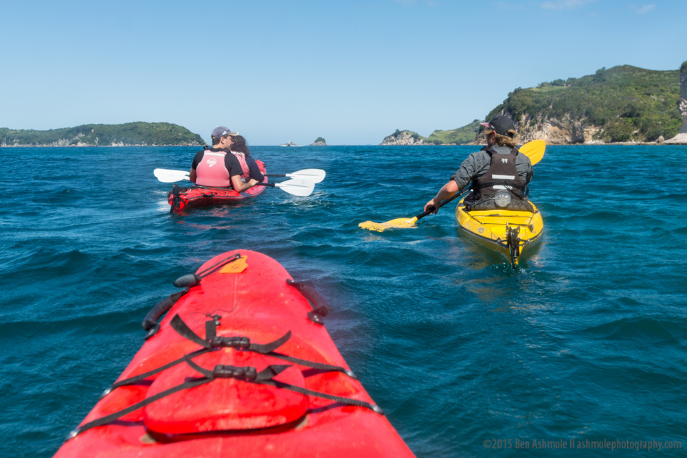 Sea Kayaking, Coromandel, New Zealand