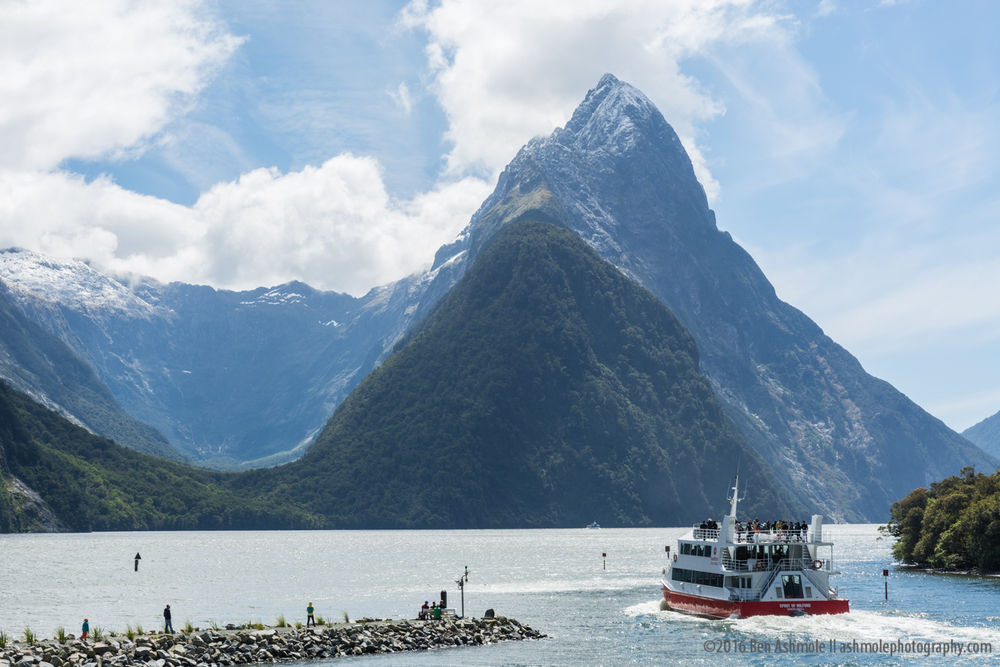 Leaving Port, Milford Sound, New Zealand