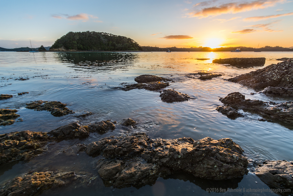 Sunrise, Paihia, Bay Of Islands, New Zealand