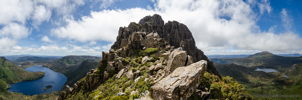 Cradle Mountain Peak Panorama, Tasmania, Australia
