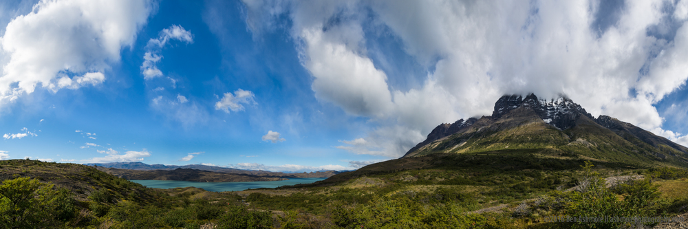 Patagonia Panorama, Torres Del Paine, Chile