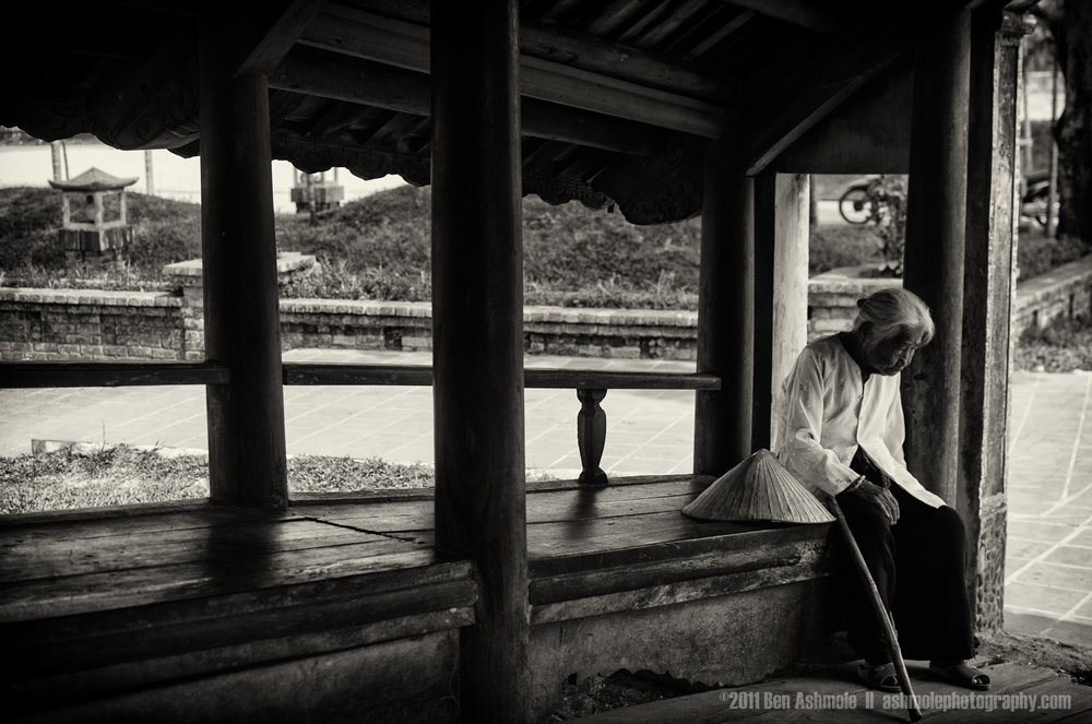 Taking a Rest, Hue, Vietnam, Ben Ashmole