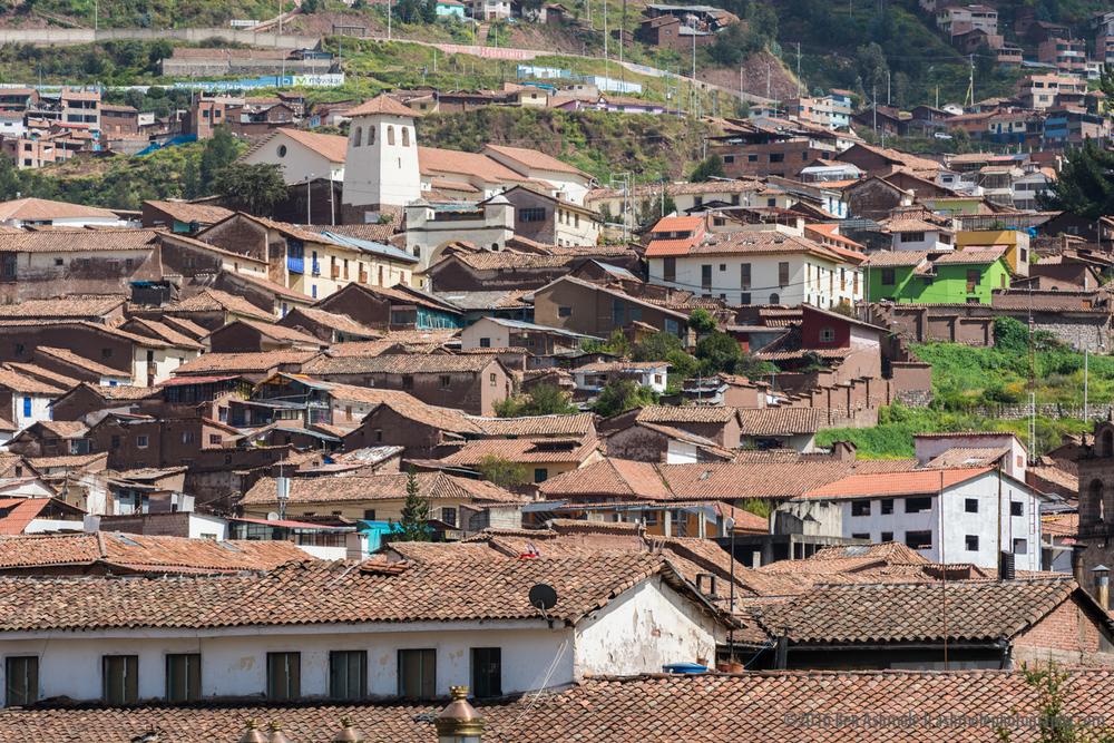 Cusco Rooftops 2, Peru