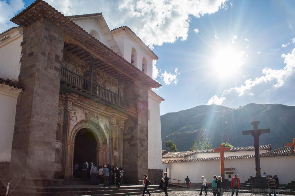 Iglesia de Andahuaylillas, Sacred Valley, Peru