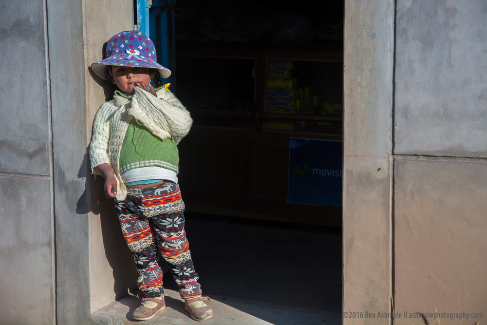 Little Girl, Amantani Island, Lake Titicaca, Peru
