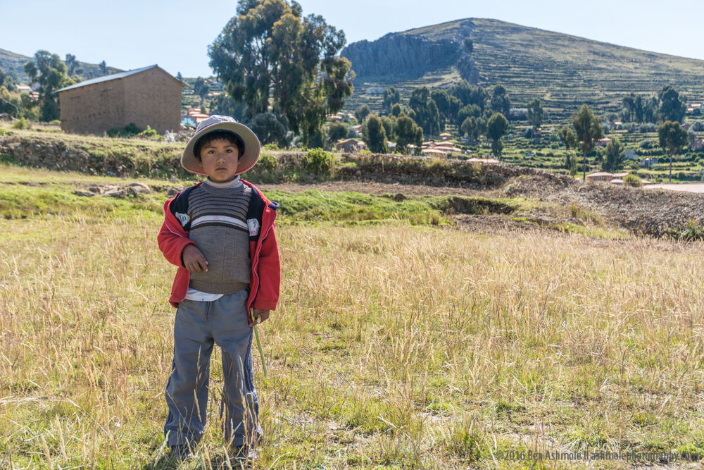 Little Boy, Amantani Island, Lake Titicaca, Peru