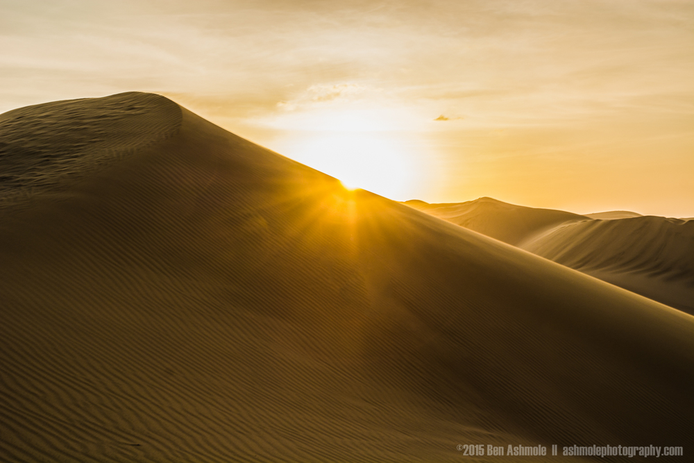 Sunset On The Dunes 2, Huacachina, Peru