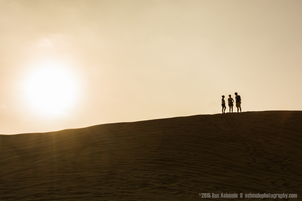 On Top Of The Dune, Huacachina, Peru