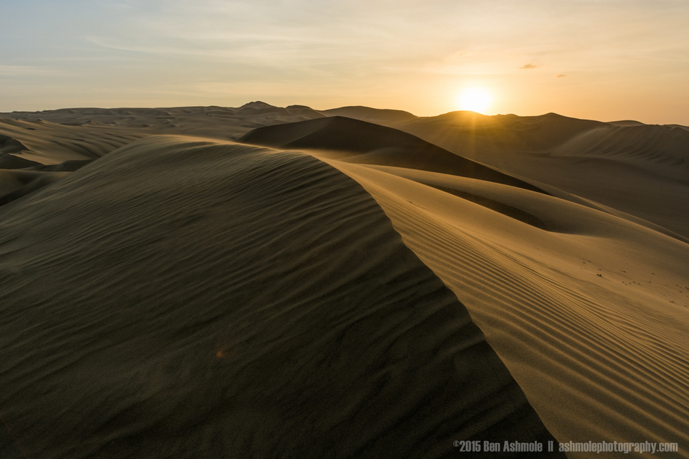 Sunset On The Dunes, Huacachina, Peru
