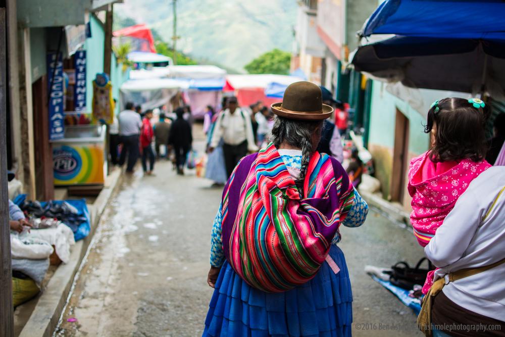 Bolivian Colour, Coroico, Bolivia